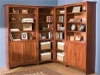 Image of Corner Bookcases