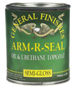 General Finishes Arm-R-Seal Oil Based Clear Topcoat