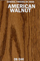 American Walnut Oil Base Stain manufactured by General Finishes