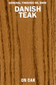 Danish Teak Oil Base Stain manufactured by General Finishes