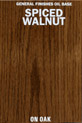 Spice Walnut Oil Base Stain manufactured by General Finishes