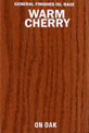 Warm Cherry Oil Base Stain manufactured by General Finishes